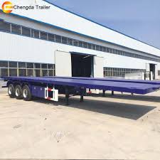 20ft Container Carry Flatbed Truck Trailer Container Twist Lock 30 ...