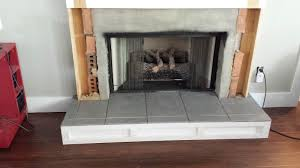 deck our home fireplace tutorial 3 installing mosaic tile