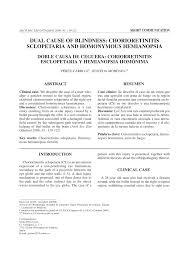 PDF Dual Cause Of Blindness Chorioretinitis