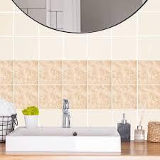 kiwistar fliesenmuster stickerfliesen klebefliesen fliesen folie sticker aufkleber küche wand fliesen überkleben 9 5 x 9 5 cm 1 stück
