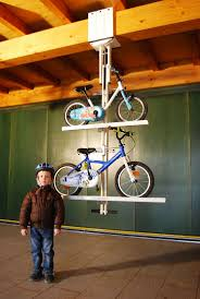 Ceiling Bike Rack Diy by Best 25 Bike Lift Ideas On Pinterest Bicycle Storage Hydro