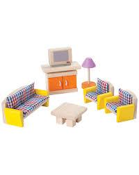 puppenhaus möbel neo wohnzimmer 10 teilig aus holz