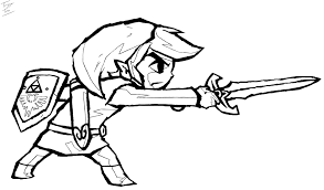 Link Coloring Pages Spectacular