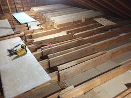 Sistering Floor Joists With Plywood by Before U0026 After Attic Joists Album On Imgur