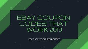 Ebay Coupon Codes That Work 2019 | You Are Overpaying! - YouTube