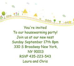 Housewarming Party Printable Invitation Template