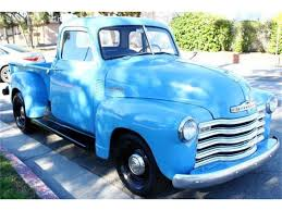 100 1951 Chevy Truck For Sale Chevrolet Pickup For ClassicCarscom CC1186188