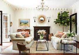 Country Style Living Room Decorating Ideas by Simple Elegance Holiday Décor In A Mediterranean Style Home