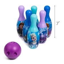 Frozen Bathroom Set Walmart by Disney Princess Frozen Elsa Anna Olaf Bowling Set 6 Pins