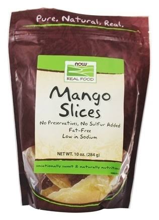 Now Healthy Foods Mango Slices - 284g