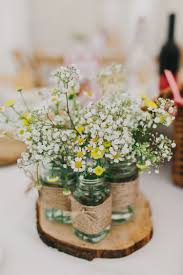 Add A Rustic Touch To Your Spring Wedding Decor With Delicate Floral Details
