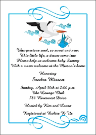 Baby Shower Cards Samples by Free Welcome Home Wording For 99 Baby Shower Party Invites