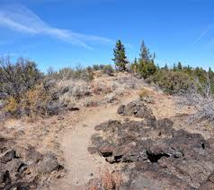 Big Nasty Trail Lava Beds National Monument California CA
