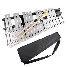 100 Home Made Xylophone MrPower Foldable Glockenspiel Vibraphone Percussion Instrument 30NOTES