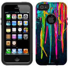 OtterBox muter Apple iPhone 5 Case Melted Birthday Candles