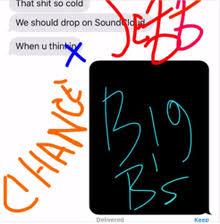 Big Bs Chance The Rapper