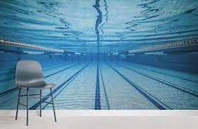 Swimming Lane Underwater Room Wall Mural