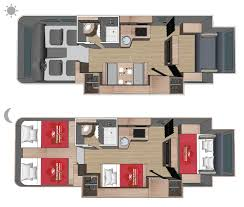 Adventurer 4 Motorhome Floor Plan