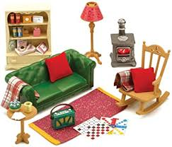 sylvanian families gemütliches wohnzimmer möbel set uk import