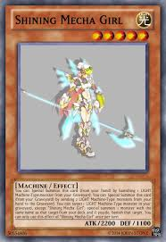 shining mecha girl cyber dragon decks come to mind advanced