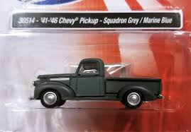 100 46 Chevy Truck Classic Metal Works 30514 194119 Pickup Squadron Grey