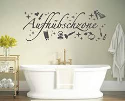 tjapalo s pkm400 wandtattoo badezimmer wandspruch wandtattoo frauen wandaufkleber mädchen bad b80 x h30 cm