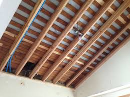 2x4 Sheetrock Ceiling Tiles by Need Help Insulating An Old Non Vented Cathedral Ceiling