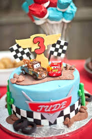 Cake Toppers For Boys Adorn An Adorable Birthday With Cars 3