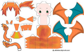 Pokemon Papercraft Charizard 101387