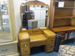 Waterfall Vanity Dresser Set by Whats It Worth Appraisal For Waterfall Bedroom Set Antique