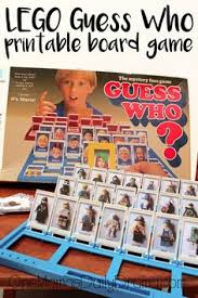 LEGO Guess Who Board Game