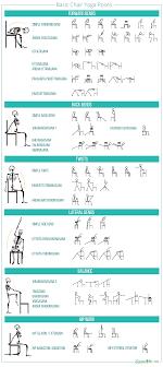 Basic Chair Yoga Poses