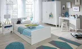 kinderzimmer jugendzimmer komplett set ole 5 teilig landhaus weiß mit bett schrank schreibtisch nachttisch bettschubkasten gästebett