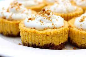 Libbys Pumpkin Cheesecake Directions by How To Make Mini Pumpkin Cheesecakes Youtube