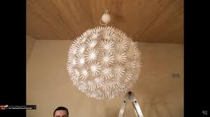 Maskros Pendant Lamp Uk by Ikea Snowflake Maskros Lamp Stop Motion Assembly Youtube