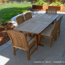Smith And Hawken Teak Patio Chairs by Large Round Teak Dining Table Large Teak Dining Table Large Teak