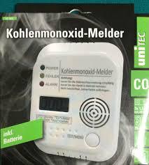 sicherheitstechnik batterie co melder unitec kohlenmonoxid