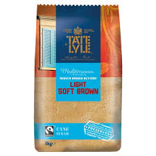 Tate & Lyle Fairtrade Light Brown Sugar 1kg from Ocado