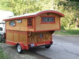 Custom Gypsy Wagons For Real Beautiful Work Would Love To Have One Of Tiny CamperMicro CampersRv