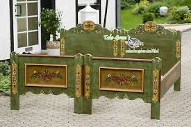 voglauer anno 1800 green single beds 90x190 cm cottage