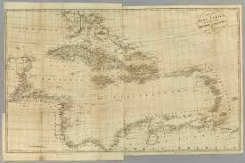 Map Of The West Indies For History British Colonies