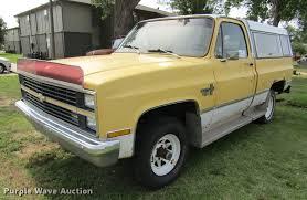 100 1983 Chevrolet Truck Scottsdale 10 Pickup Truck Item DD5762 SO