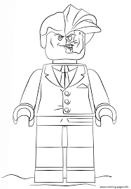 Download Coloring Pages Lego Batman Two Face Free Printable