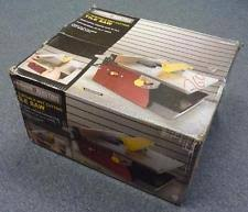 Husky Wet Saw Thd750l Manual by Husky Tile Saw Ebay