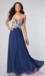 strapless low cut prom dresses faviana strapless gowns promgirl