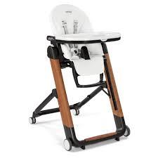 Peg Perego High Chair Siesta by Siesta High Chair Bianco High Chairs U0026 Boosters