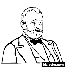 Ulysses S Grant Coloring Page