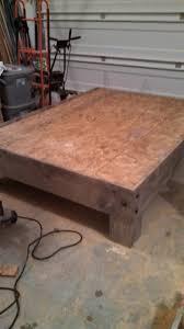 diy platform bed u0026 salvaged door headboard part three averie