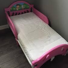 find more dora the explorer toddler bed w mattress for sale at up
