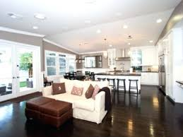 Kitchen Family Room Combination Basement Ideas Man Cave Small